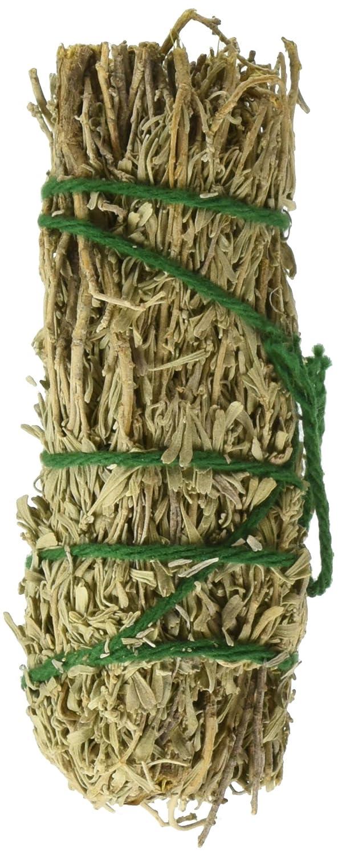 SAGE SPIRIT Sage Sweetgrass Smudge Wand 4-5, 0.02 Pound 049347003046