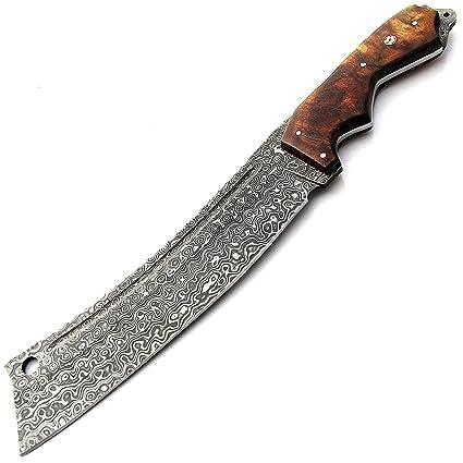 Amazon.com: SGNP-9376 - Cuchillo de acero para caza, hecho a ...