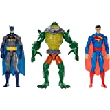 """DC Comics Toy Playset - Reptile Rage 12"""" Action Figure Battle Pack - Superman Batman Killer Croc"""