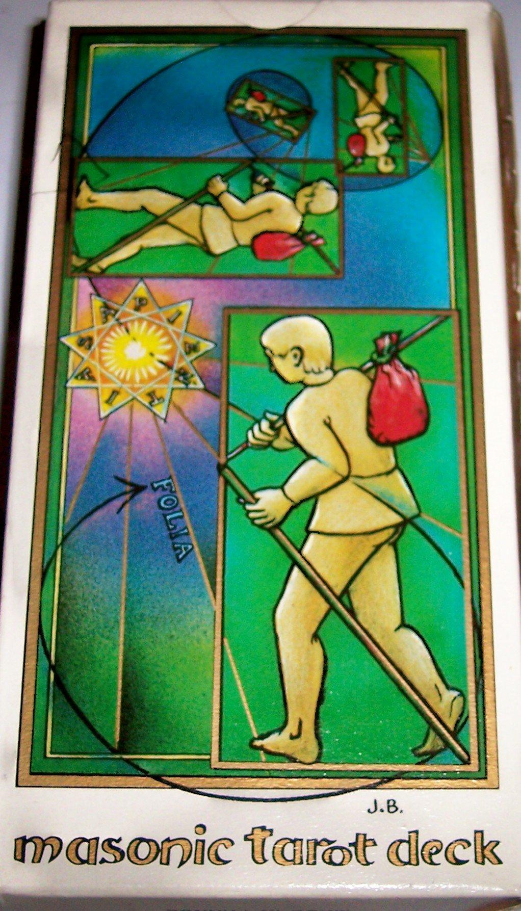 Jean Beauchard Tarot Maçonnique Tarot Coleccion Masonic EN, FR