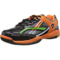 Yonex Exceed Plus 505 Pro Badminton Shoes (Black/Grey/Orange)