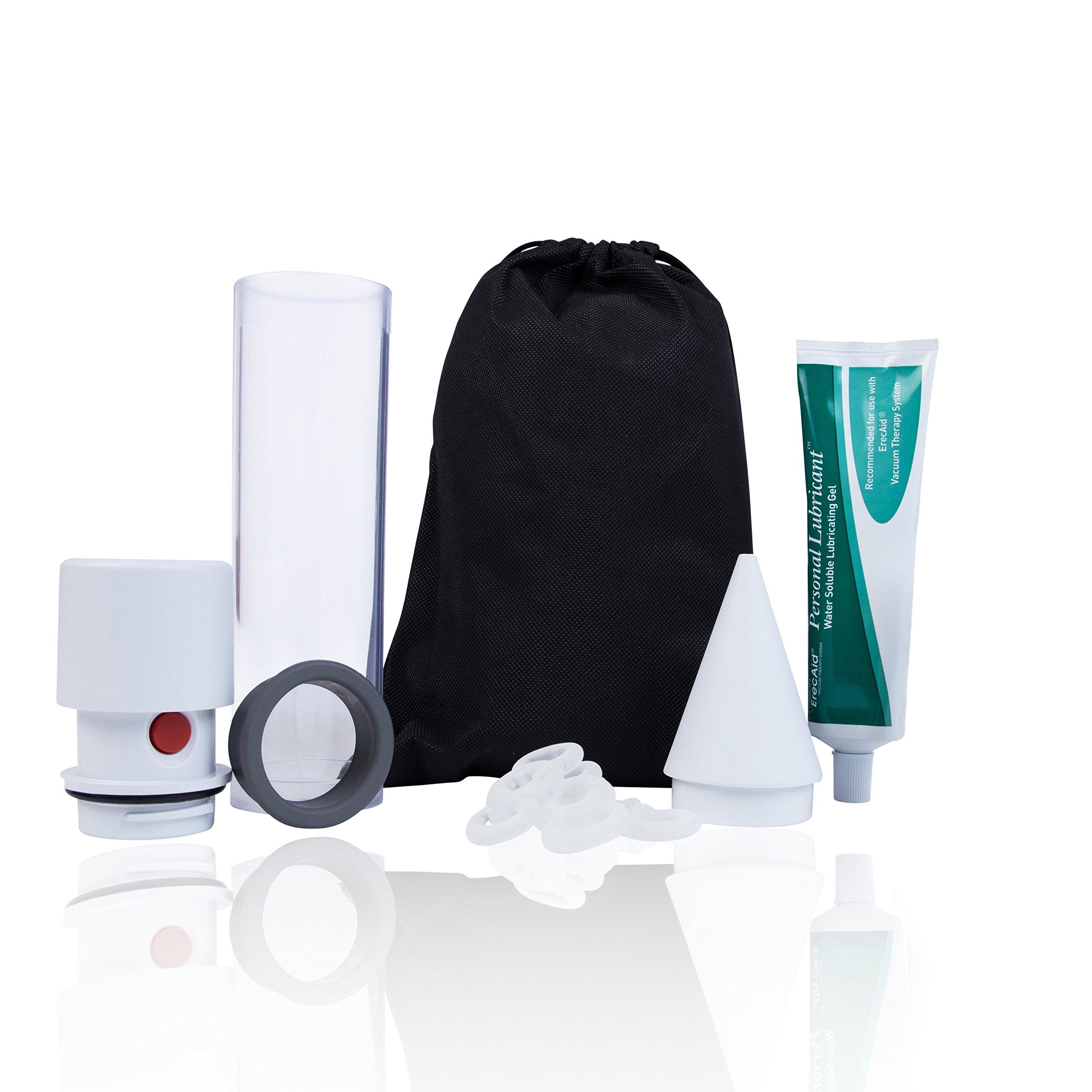 Vacuum Pump for Men, Natural Alternative to Erectile Dysfunction Pills, Manual Penis Pump, Men's Pump Kit for Erectile Dysfunction - Pos-T-Vac, Easy Pro 1000