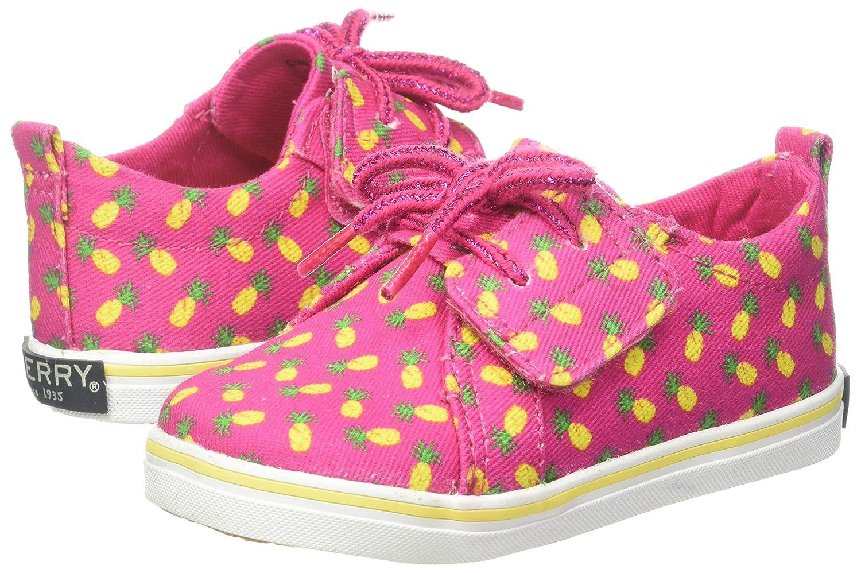 watch fb3e9 6450b Sperry Baby-Girls Crest Vibe Crib JR Fashion Sneakers  Amazon.ca  Shoes    Handbags