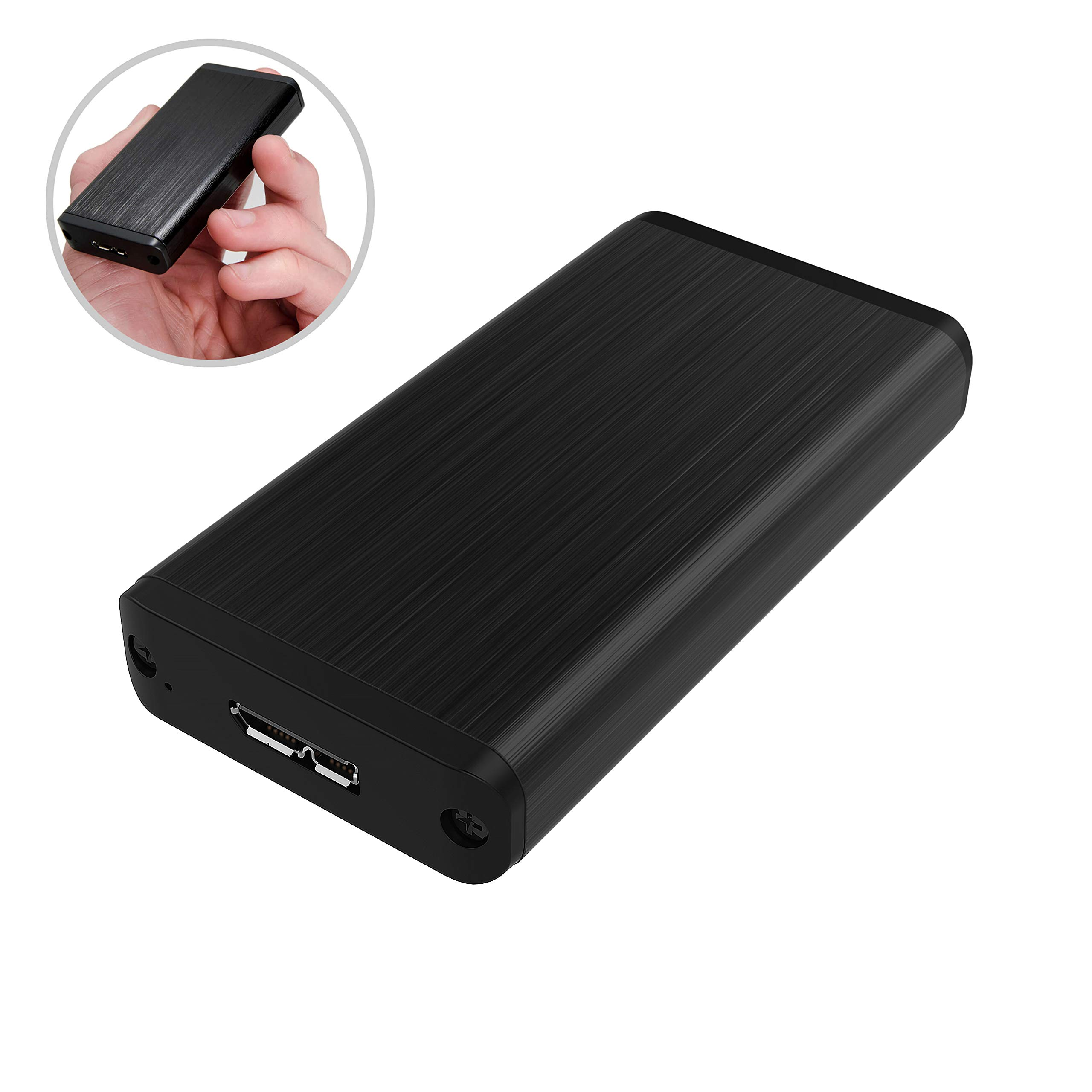 Sabrent USB 3.0 mSATA II or III/6G SSD Enclosure Adapter [Support UASP] (EC-UKMS)