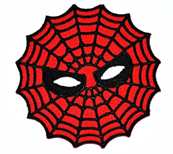 Spiderman Web Superhero Cartoon Logo Patch Motorcyle Bike Novelty Tattoo Embroidered Iron On Applique
