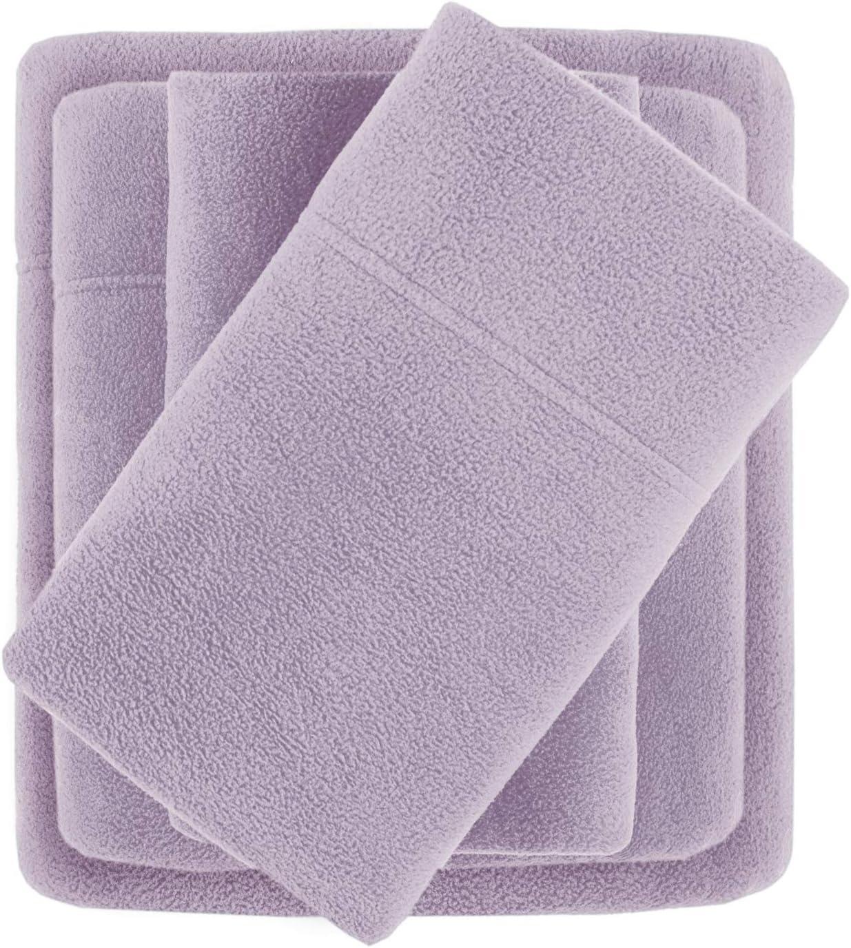 True North by Sleep Philosophy Micro Fleece, Warm, Soft Plush Sheets with 14