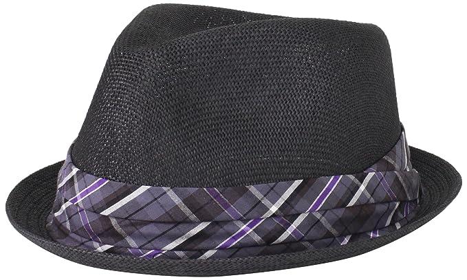 9d3b5cbff9f4e Cubavera Men s Toyo Paper Fedora Hat
