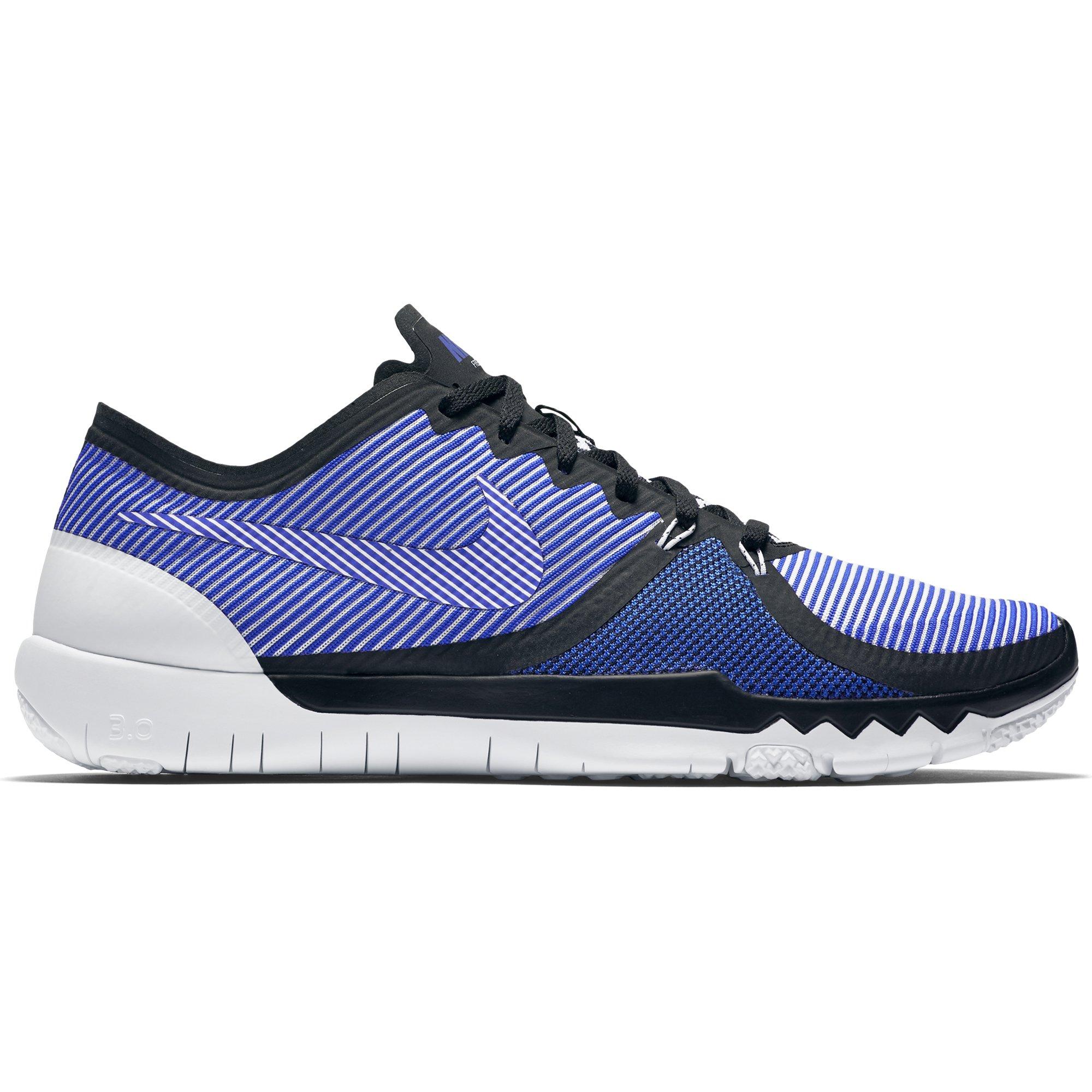 36e5df2164c7a Galleon - Nike Mens Free 3.0 Training Shoe Black Racer Blue White 8
