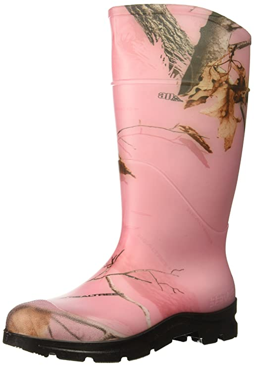 85ed7f0c57bc1 Ranger Field General PVC Women's Rain Boots, Realtree AP Pink Camo (18866)  - - Amazon.com
