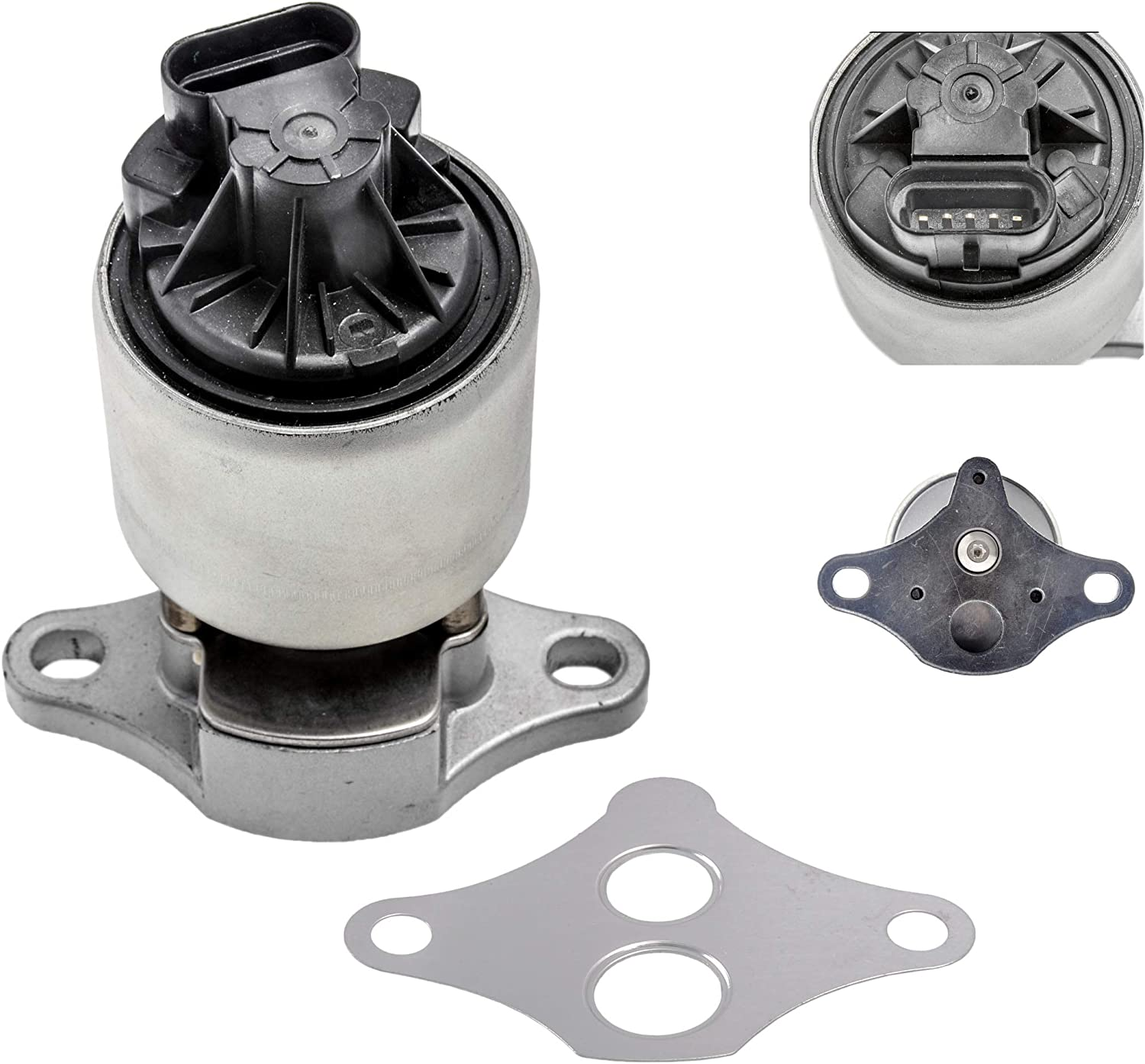 New EGR Exhaust Gas Valve With Gasket For Buick Chevy Olds GMC Pontiac 2.2 2.4