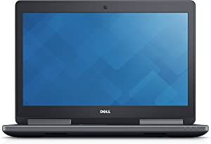 Dell Precision M7520 FHD i7-7820HQ 16GB 512GB SSD NVIDIA M2200M Windows 10 Professional (Renewed)