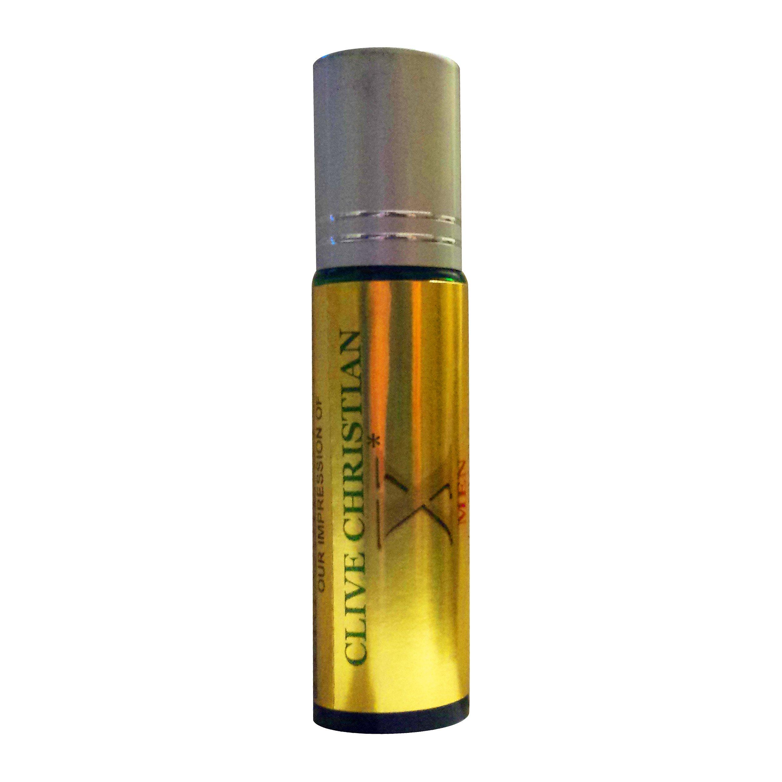 Perfume Studio Superior Impression Ofclive Christian L 100 Parfum Original Premium X For Men 10ml Roll On Green Glass Silver