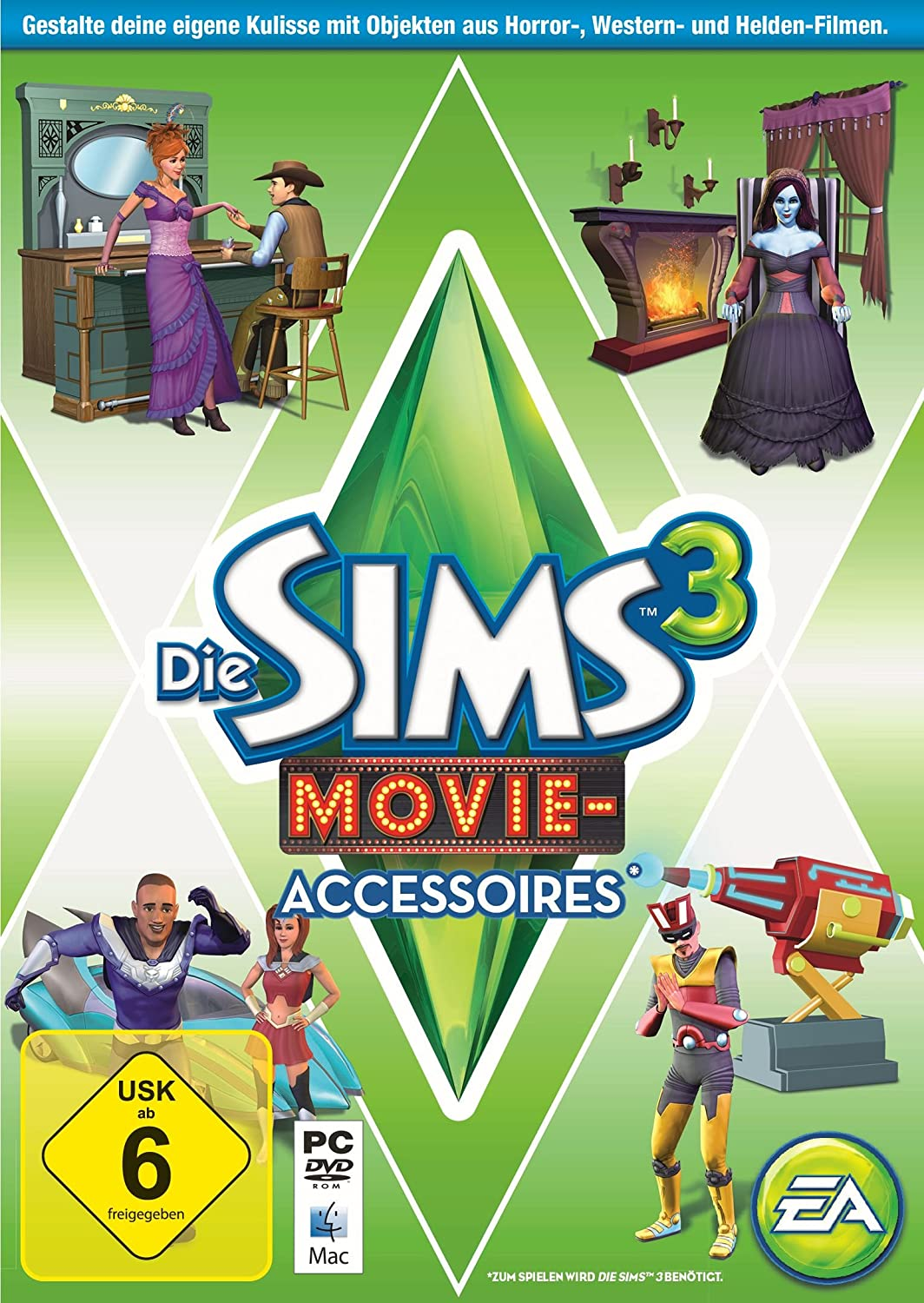 Die Sims 3 Movie Accessoires Add On Pc Amazonde Games