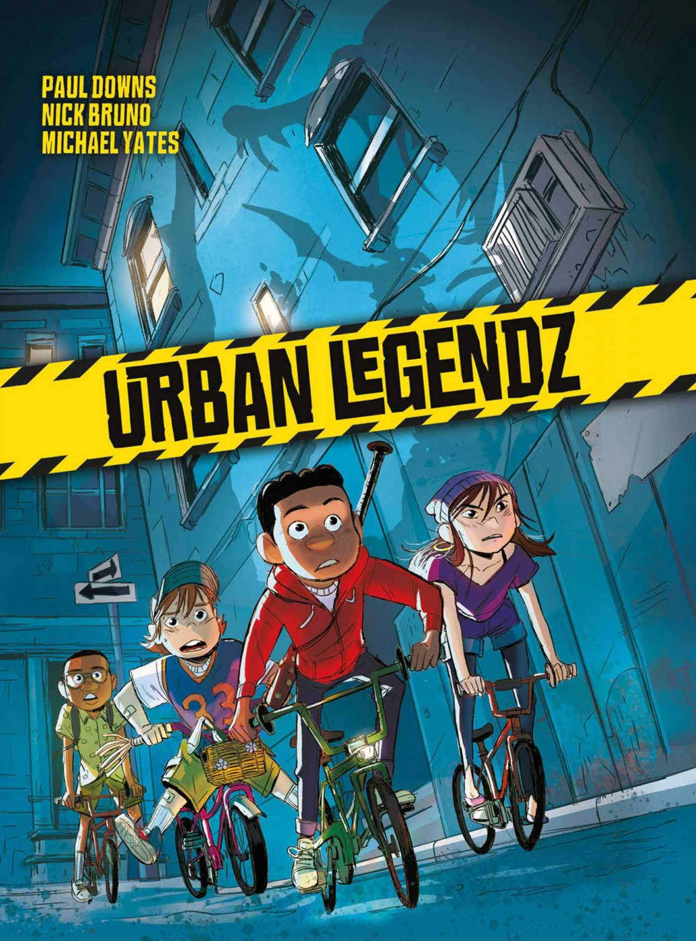 Amazon.com: Urban Legendz (9781594657146): Downs, Paul, Bruno, Nick, Yates,  Michael: Books