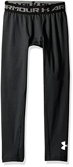 afd5714bae Under Armour Boys ColdGear Armour Leggings, Black (001)/Graphite, Youth  Large