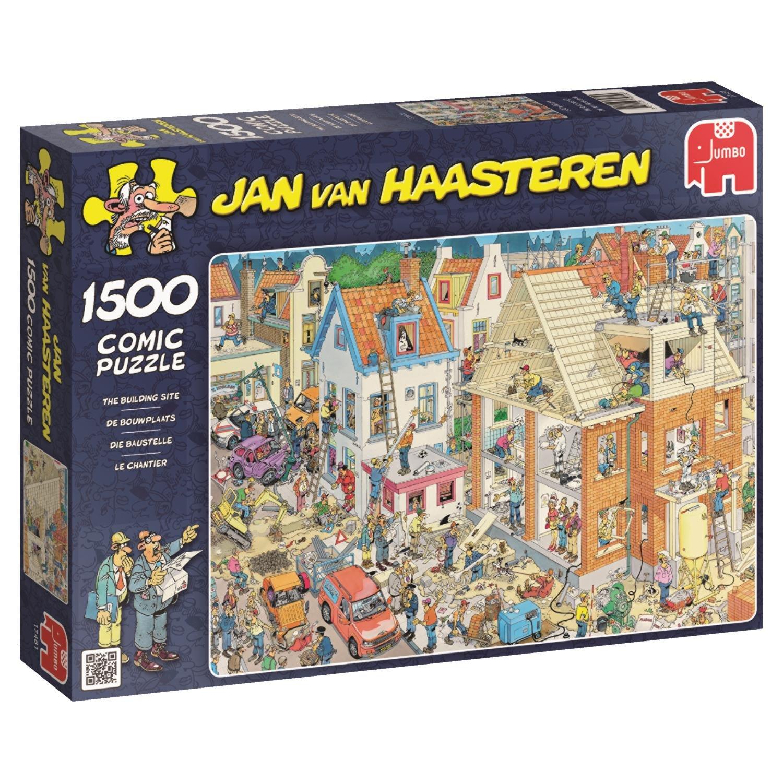 JUMBO Jan Van Haasteren The Building Site Jigsaw Puzzle (1500 Piece)