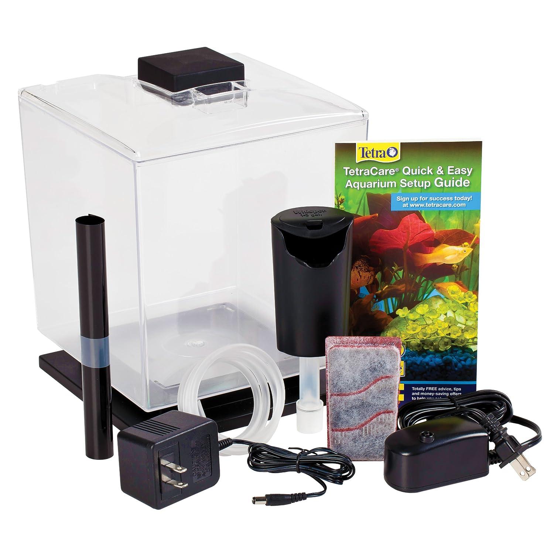 Fish aquarium price list - Amazon Com Tetra 29005 Glofish Aquarium Kit 3 Gallon Aquarium Starter Kits Pet Supplies