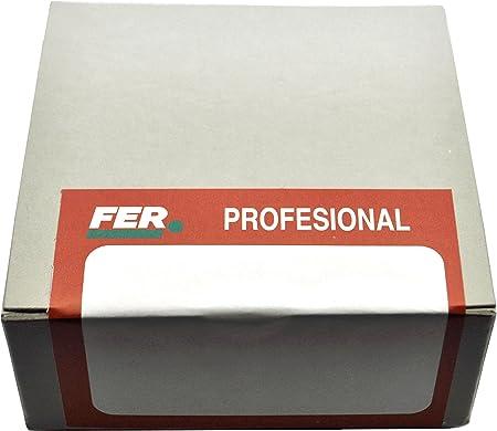 FER 57752 Caja Profesional Cart/ón Tornillo Autotaladrante Cabeza Alomada 4,80x16 Zincado Set de 500 Piezas