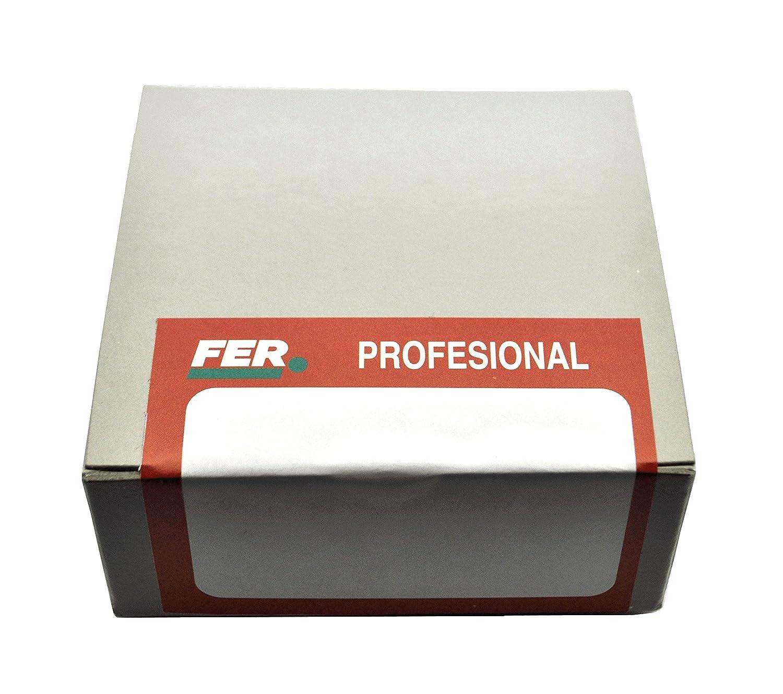 FER 53138 Caja Profesional Cart/ón Tachuela Negro 14 x 18 mm