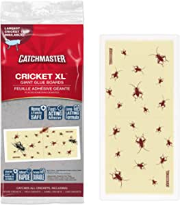 Catchmaster Cricket XL, Largest Cricket Trap Available - 6 Glue Traps Product Name