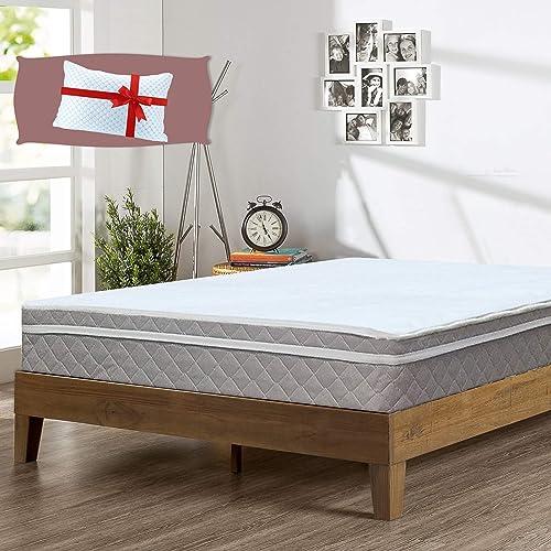 Greaton 10-Inch Medium Plush Pillowtop Innerspring Fully Assembled Mattre