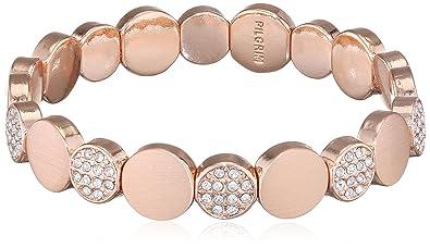 Pilgrim Women Gold Plated Stretch Bracelet - 601634062 rJp7f