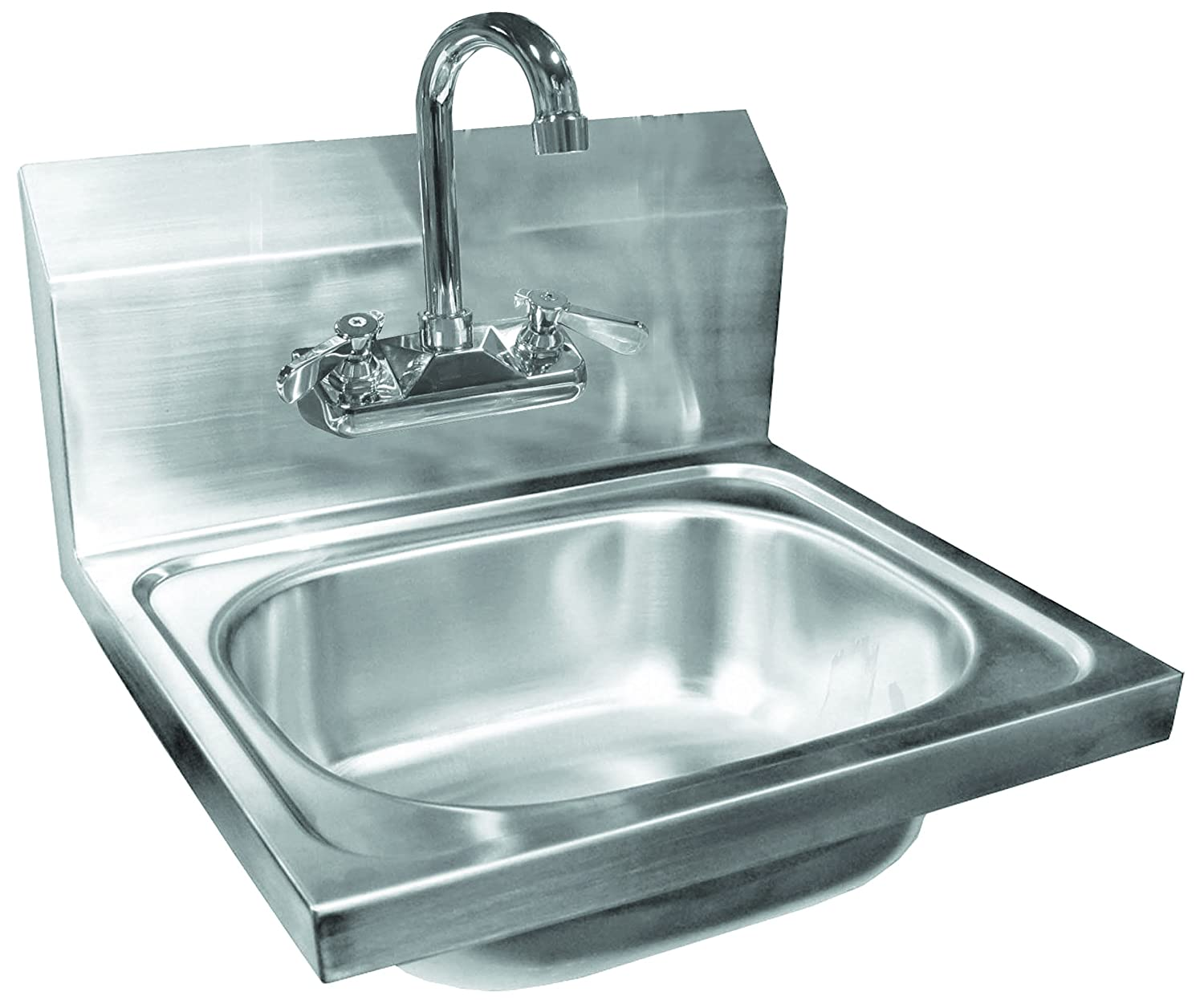Amazon.com: ACE HS-1217WG Space Saver Wall Mount Hand Sink with Lead ...
