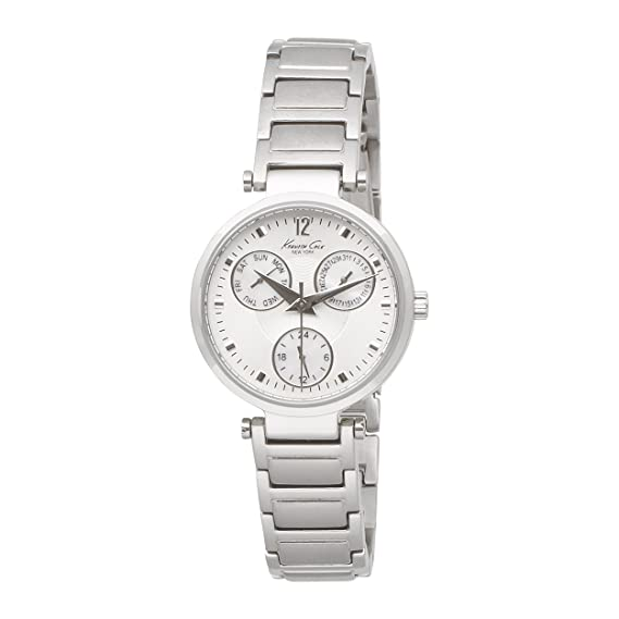 Kenneth Cole KC4645 - Reloj de pulsera Mujer, acero inoxidable, color Plata