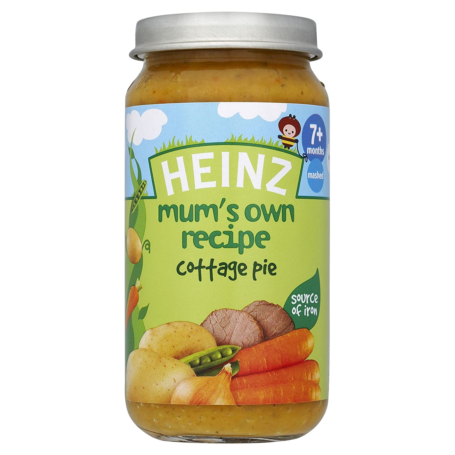 Heinz Mum's Own Cottage Pie Jar 7 Months Plus 200 g (Pack of 6) Healthcenter