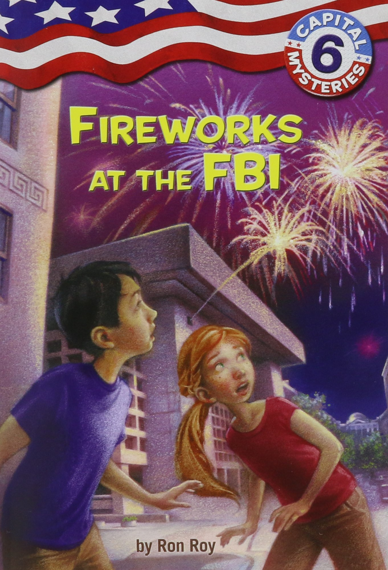 Capital Mysteries Fireworks Ron Roy product image