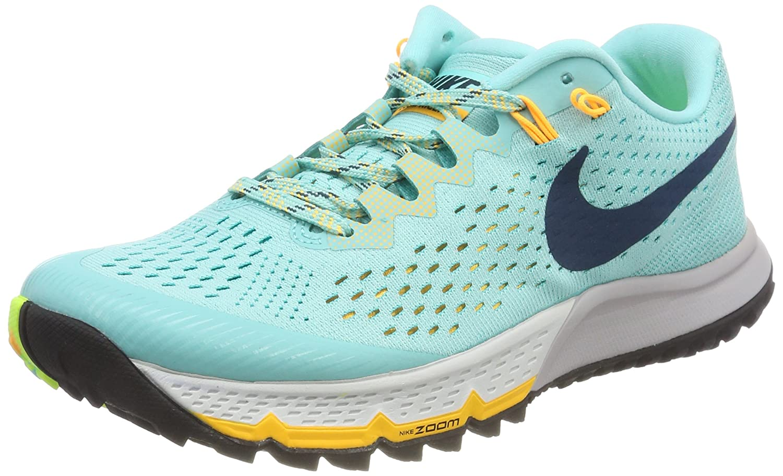 Nike W Air Zoom Terra Kiger 4, Zapatillas de Running para Mujer 40 EU|Turquesa (Verde Aurora/Azul Claro 300)