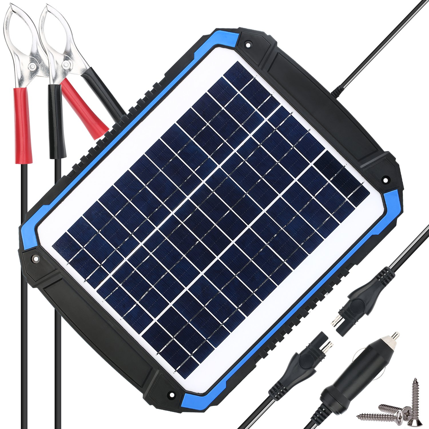 Best Rated In Solar Battery Chargers Charging Kits Helpful 12v Charger Circuit Moreover The Usb Car Suner Power Maintainer Portable 12w Panel Trickle