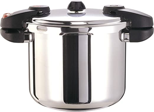 Buffalo QCP412 12-Quart Stainless Steel Pressure Cooker Classic series
