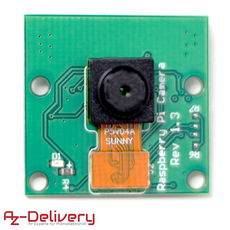 AZDelivery ⭐⭐⭐⭐⭐ 5 x Kamera f/ür Raspberry Pi und gratis eBook!