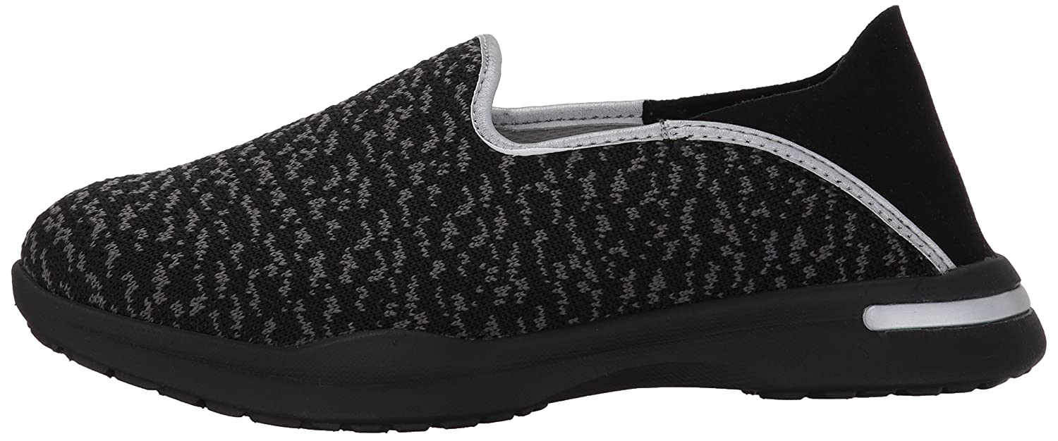 SoftWalk Women's B(M) Simba Flat B01N4GENJK 10 B(M) Women's US|Black/Grey f90185