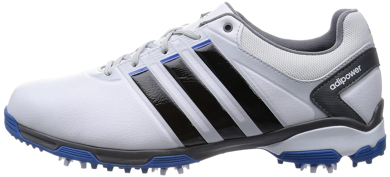 Adidas Golf 2015 Adipower TR Wide Shoes White/Black/Bahia Blue 10:  Amazon.co.uk: Sports & Outdoors
