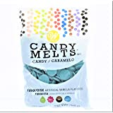 Food Items Candy Melts 12OZ, us:one size, Turquoise, Vanilla