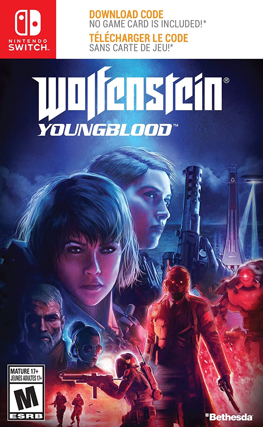 Nintendo Switch Wolfenstein: Youngblood Game vídeo - Juego ...