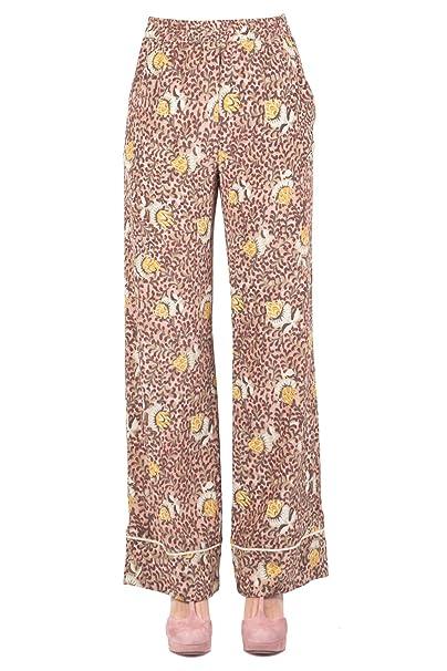 Momonì - Pantalones Mujer fantasía MOPA001 Agata PA: Amazon.es: Ropa y accesorios
