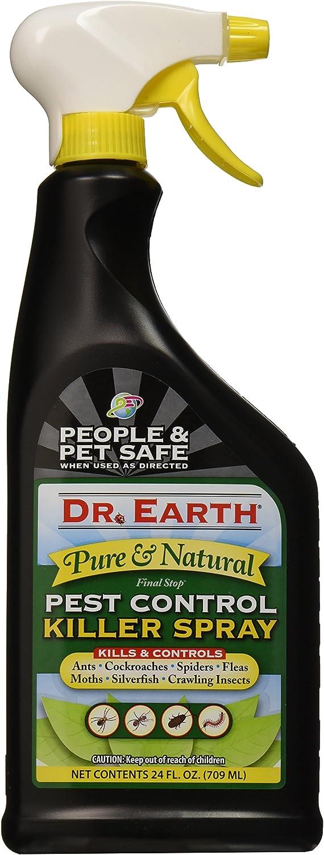 Dr. Earth 8000 Ready to Use Pest Control Killer Spray, 24-Ounce