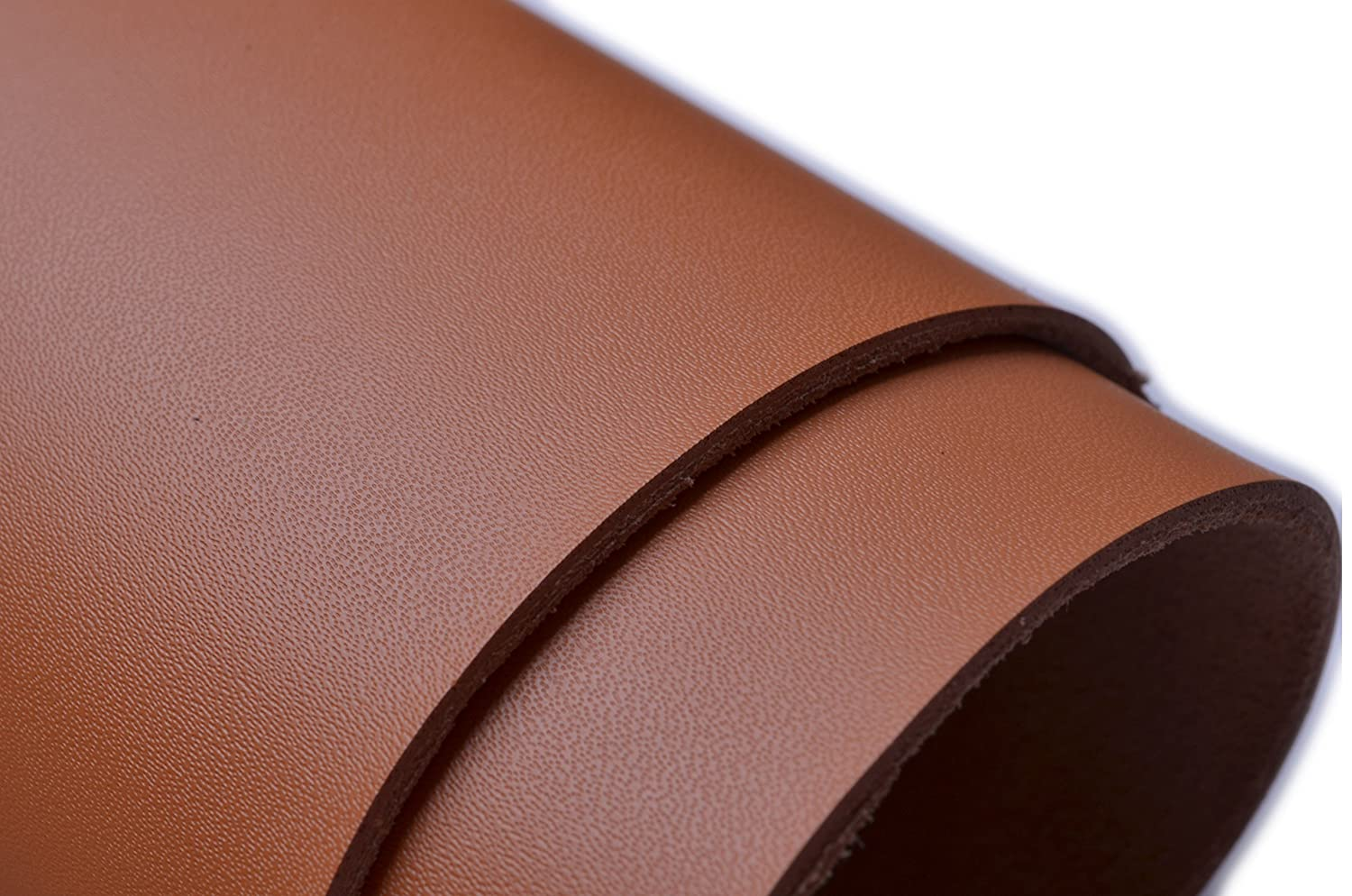 W WENTO 1.8-2mm Thick Solid Genuine Leather Finished,cow split leather,Cowhide leather,split hide leather 2 Square Foot 12 x 24 , Black