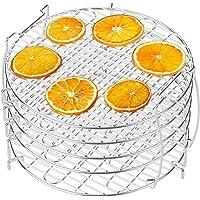 Dehydrator Rack, Packism 5 Tier Food Dehydrator Stand for Ninja Foodi Accessories, Fits 6.5 qt and 8 qt Ninja Foodi…