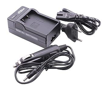 Cargador Cable de Carga + Cargador Coche para baterías PS-BLS1 / PS-BLS5, Compatible con cámaras Olympus E-P3, E-PL3, E-PM1