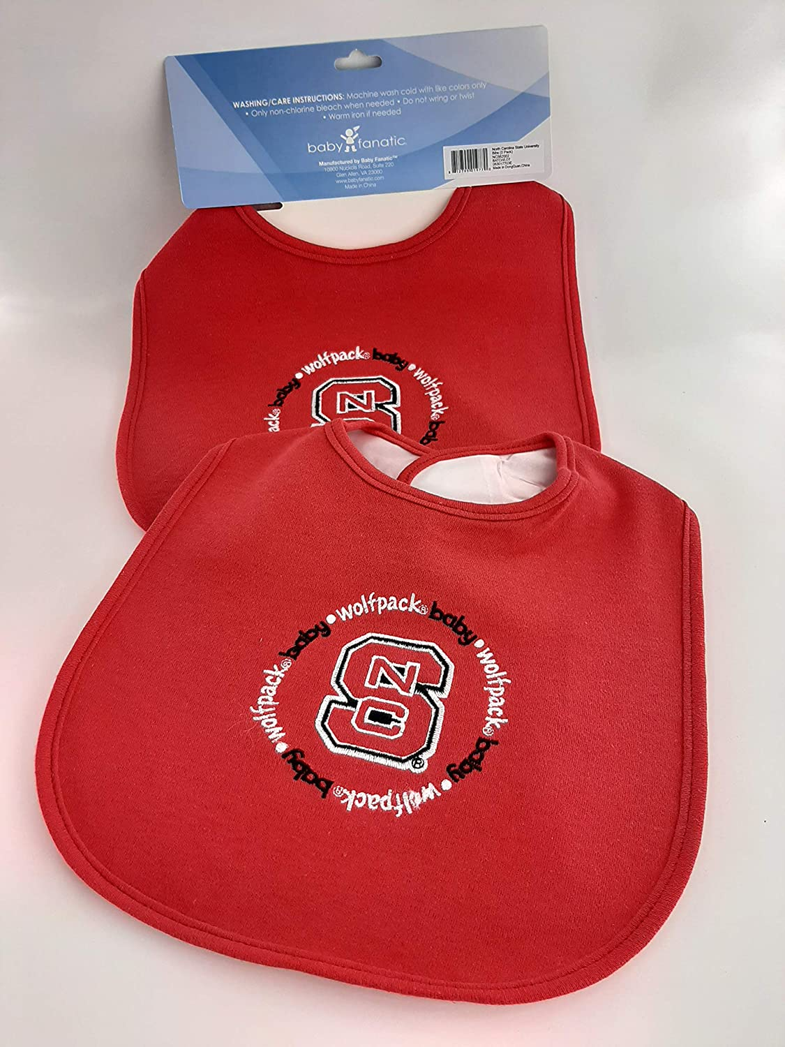 Louisiana State University Baby Fanatic Team Color Bibs 2-Count