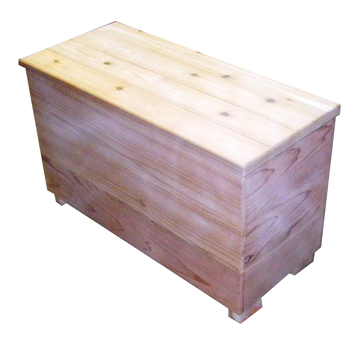 Amazon.com : DIY Kit   Cedar Chest And Storage Bench Size 30 X 13 X 19  Inches By Steveu0027s Gift Shoppe : Patio, Lawn U0026 Garden