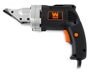 WEN 3650 4.0-Amp Corded Variable Speed Swivel Head Electric Metal Cutter Shear