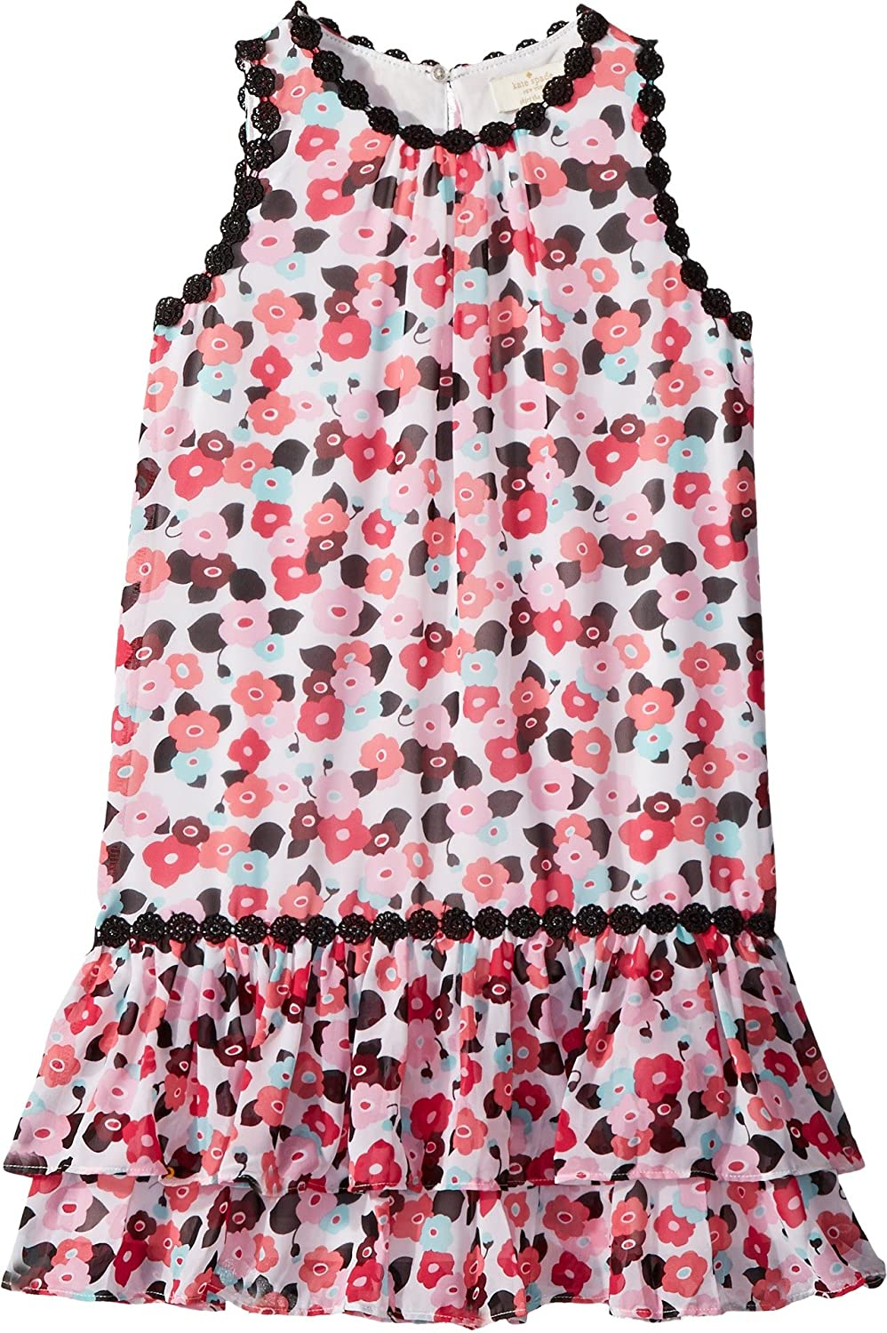 290fe4d9d1977 She'll be party ready in this fun-loving Kate Spade New York Kids® Blooming  Floral Dress. Floral, jewel neck shift dress. Relaxed fit with drop waist  ...