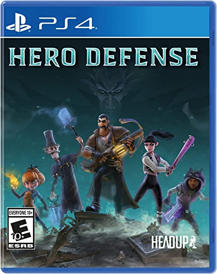 Resultado de imagen de Hero Defense - Haunted Island ps4 caratula