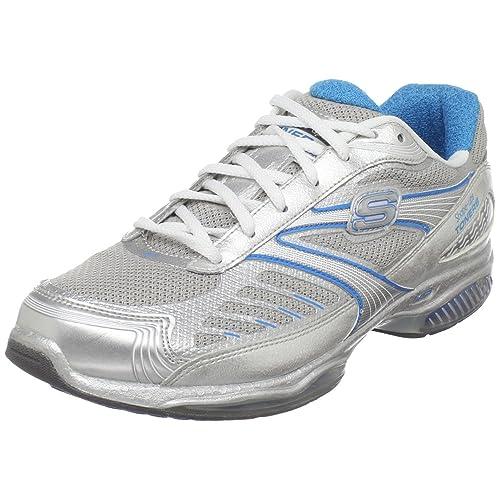 Skechers Ultra Shape Ups Toners - Zapatillas de deporte para mujer, color plateado, talla 41: Amazon.es: Zapatos y complementos