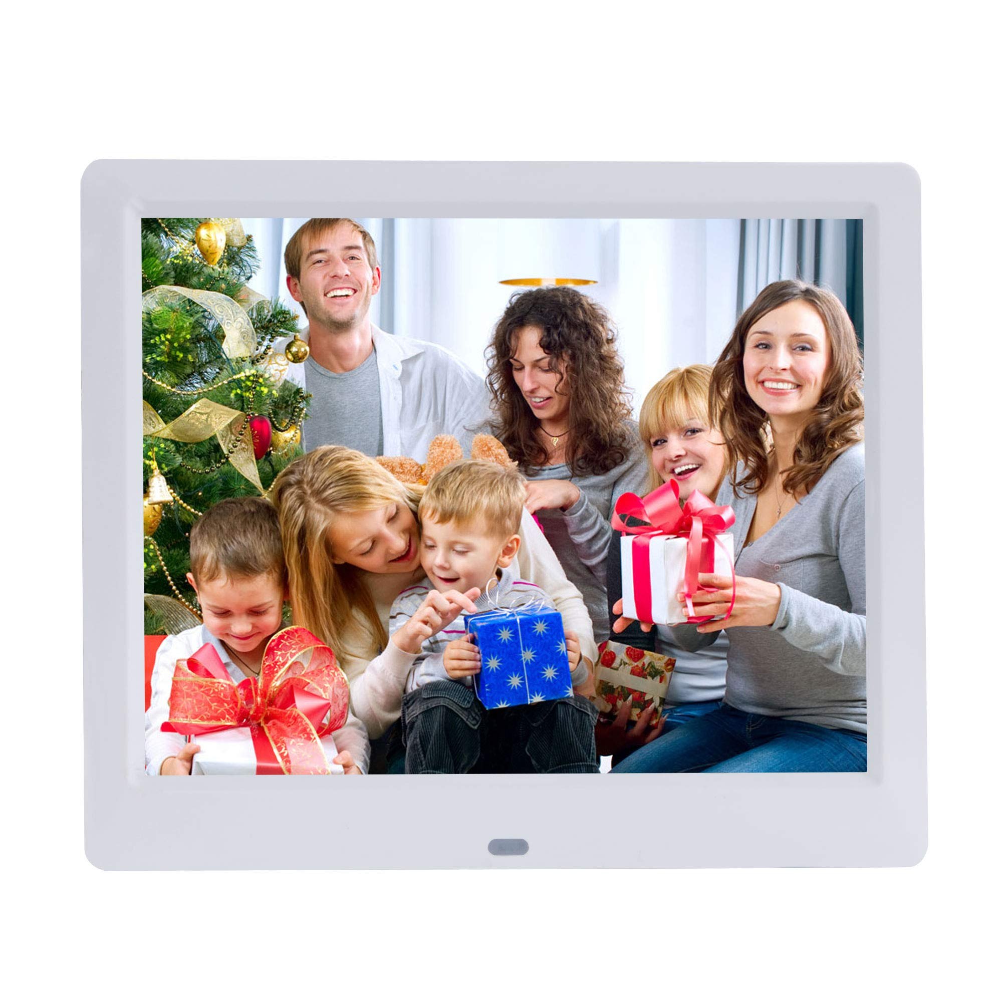 9 Inch IPS Digital Picture Frames Full Angle1024x768 High Resolution LCD Screen,Electronic Photo Frame Support Video and Pictures Player,Calendar Function and Remote Control